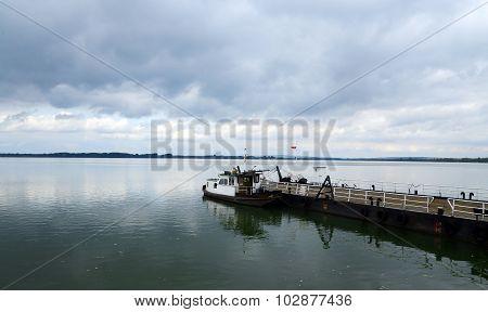 Serbian Ferry Boat