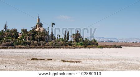 Hala Sultan Tekke  Muslim Mosque Larnaca Cyprus