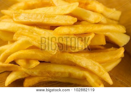 French  Fries  An Old Cutting Board