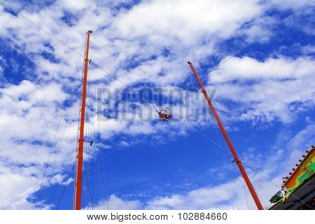 Reverse Bungee Ride