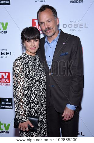 LOS ANGELES - SEP 18:  Constance Zimmer & Russ Lamoureux Television Industry Advocacy Awards  on September 18, 2015 in Hollywood, CA