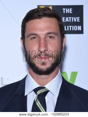 LOS ANGELES - SEP 18:  Pablo Schreiber Television Industry Advocacy Awards  on September 18, 2015 in Hollywood, CA