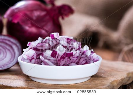 Diced Red Onion