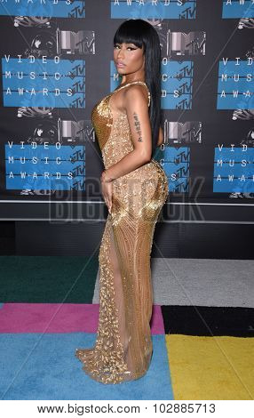 LOS ANGELES - AUG 30:  Nicki Minaj 2015 MTV Video Music Awards - Arrivals  on August 30, 2015 in Hollywood, CA