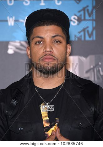 LOS ANGELES - AUG 30:  O'Shea Jackson, Jr 2015 MTV Video Music Awards - Arrivals  on August 30, 2015 in Hollywood, CA