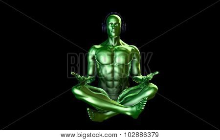 Music Therapy and Mental Stress Release as Concept