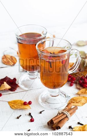 Autumn Hot Tea