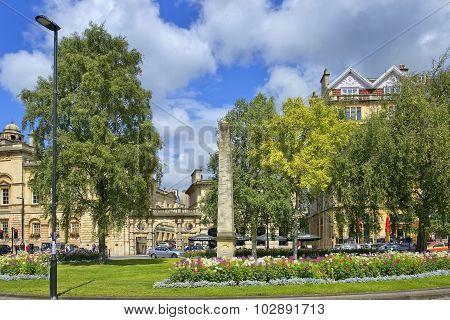Medieval Town Bath, Somerset, England