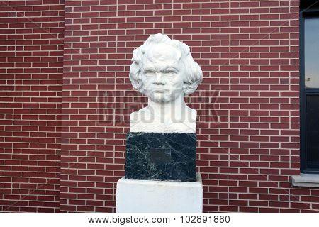Bust of Dr. Mace Gazda
