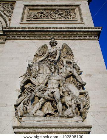 Arc De Triomphe La Resistance De 1814