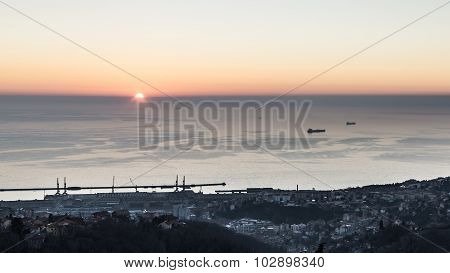 Evening In The Bay Of Trieste