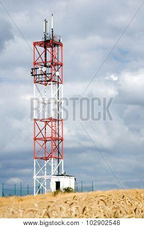 Satellite Tower Detail