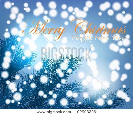 Mystery Of The Christmas Tree And Snowfall