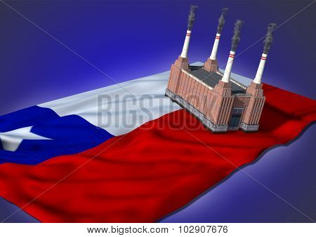 national heavy industry concept - Chilean theme