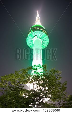 Namsan Tower Of Seoul - South Korea