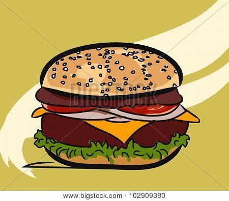 Hamburger, Burger