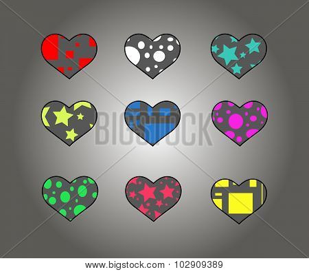 The Symbol Of The Heart (6 Pieces)