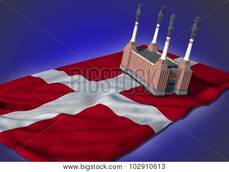 national heavy industry concept - Danish theme