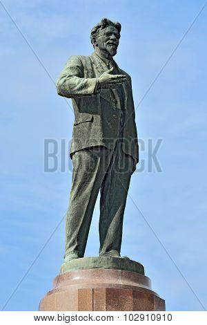 Monument To Kalinin. Kaliningrad, Russia
