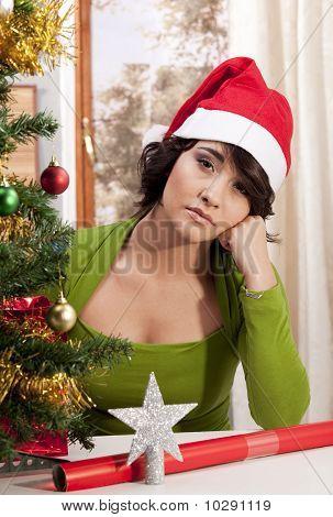 Navidad triste solitario