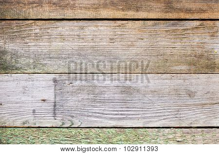 Old Grungy Wooden Wall Background Texture