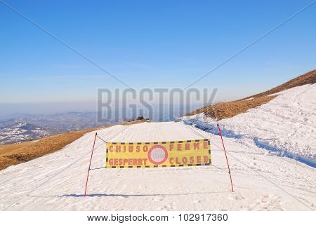 Slope Closed
