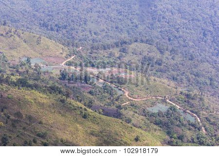Village With Garden In Doi Inthanon, Chiangmai Thailand