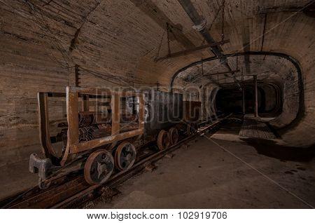 Underground Coal Mine Tunnel
