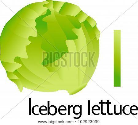I font with iceberg lettuce