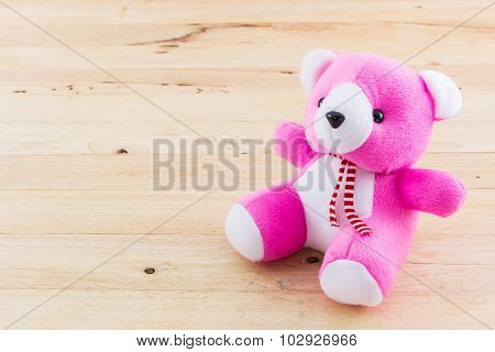 Pink Teddy Bear Toy.