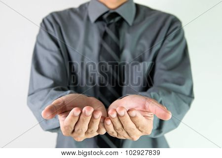 Businessman Offer Hand