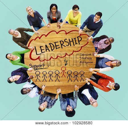 Lead Leadership Chief Team Partnership Concept