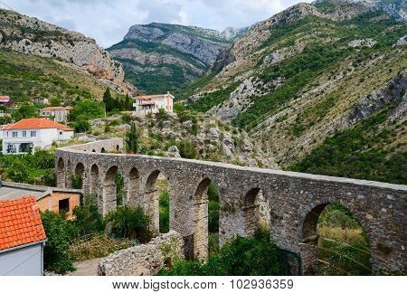 Aqueduct In The Old Bar, Montenegro