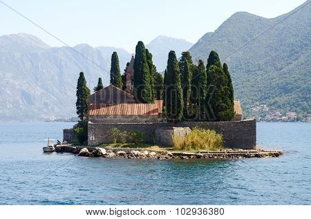 St. George Island (island Of The Dead), Bay Of Kotor, Montenegro