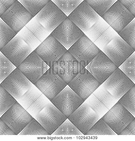 Design Seamless Wave Geometric Pattern