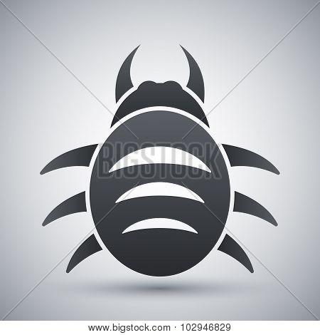 Vector Bug Icon