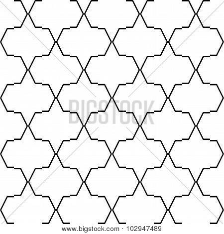 Design Seamless Grid Geometric Pattern
