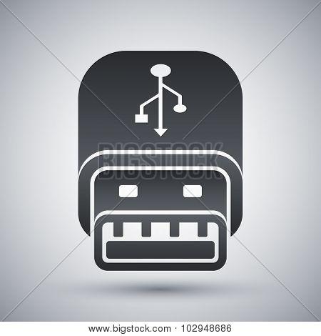 Vector Usb Stick Icon