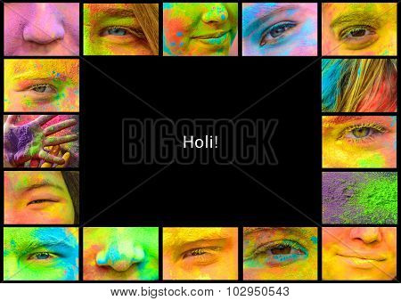 Holi frame