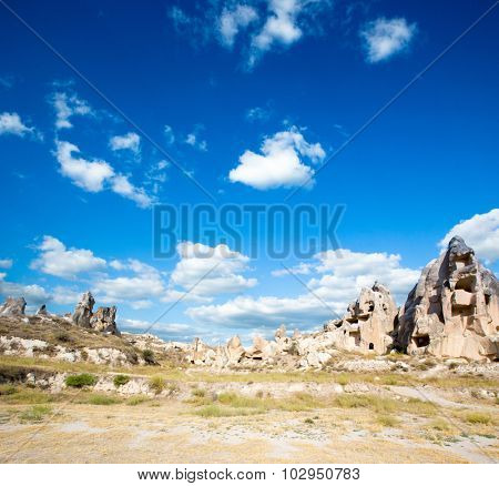Rocks formations in Capadocia, Turkey