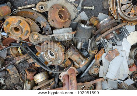Useless, Rusty Brake Discs And Other Parts