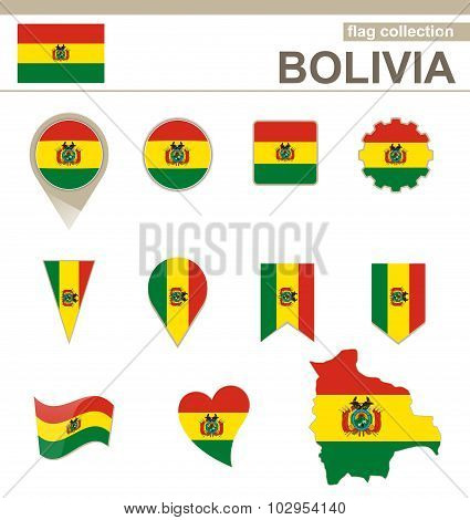 Bolivia Flag Collection