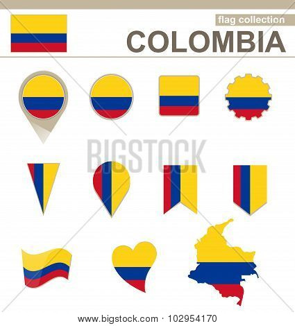 Colombia Flag Collection
