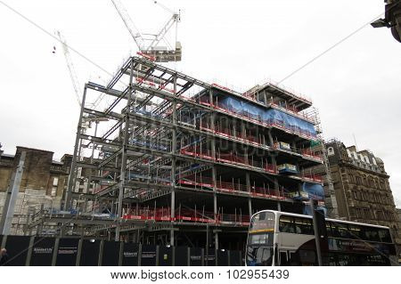Scaffolding For Building In Edinburgh