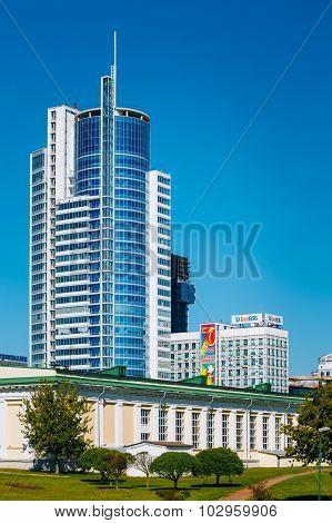 Business Center Royal Plaza in Minsk, Belarus