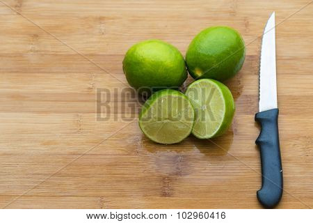 Food in Cutting Board