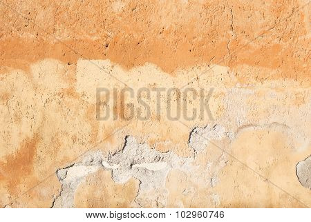 Old Textured Wall From Stone
