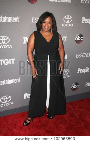 Chandra WilsonLOS ANGELES - SEP 26:  Chandra Wilson at the TGIT 2015 Premiere Event Red Carpet at the Gracias Madre on September 26, 2015 in Los Angeles, CA