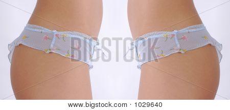 schlanken Körper