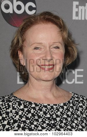 LOS ANGELES - SEP 26:  Kate Burton at the TGIT 2015 Premiere Event Red Carpet at the Gracias Madre on September 26, 2015 in Los Angeles, CA